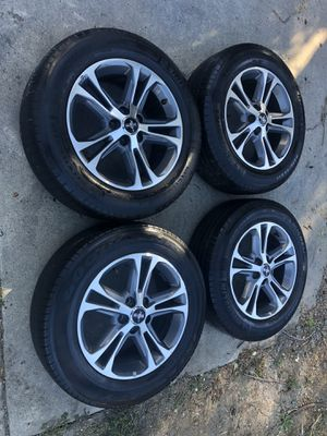 Mustang Stock rims p215/65r17 years 2010-11-12-14 for Sale in Millbrae, CA