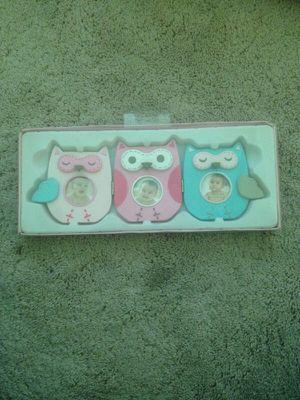 Owls Photo Frame for Sale in Scottsdale, AZ