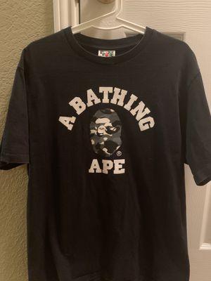 Black Camo Bape T-Shirt for Sale in Frisco, TX