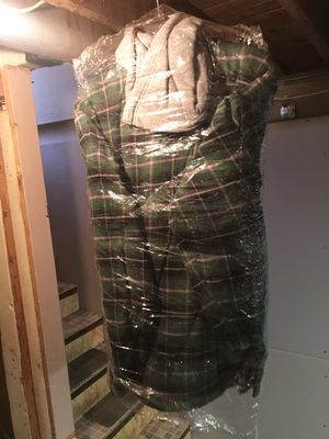 Insulated flannel hoodie for Sale in Whitehall, OH