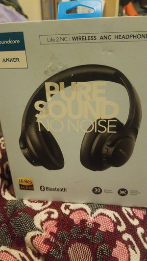 soundcore ANKER, Life 2NC,WIRELESS ANC HEADPHONES. for Sale in Grand Prairie, TX