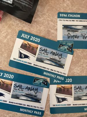 July passes for Sale in Central Falls, RI