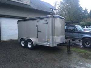 Trade - 2007 United 6x12 enclosed trailer for Sale in Creswell, OR