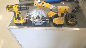 Dewalt drill combo set for Sale in Austin, TX