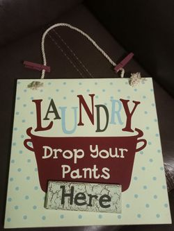 Laundry Room Decor $5 for Sale in Houston,  TX