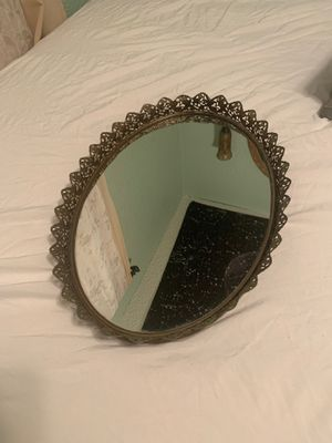 Ornate Mirrored Desk Tray / Wall Hanging for Sale in Orlando, FL