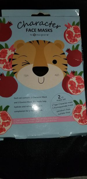 SET OF 2 CHARACTER COMPLEXION FACE MASKS,BRAND NEW for Sale in MONARCH BAY, CA