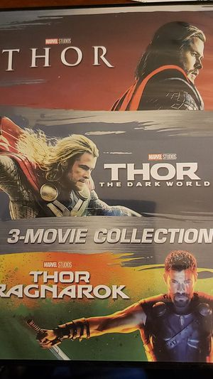 Thor dvd for Sale in Hollywood, FL