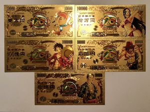 5x One Piece anime Gold cards for Sale in West Palm Beach, FL
