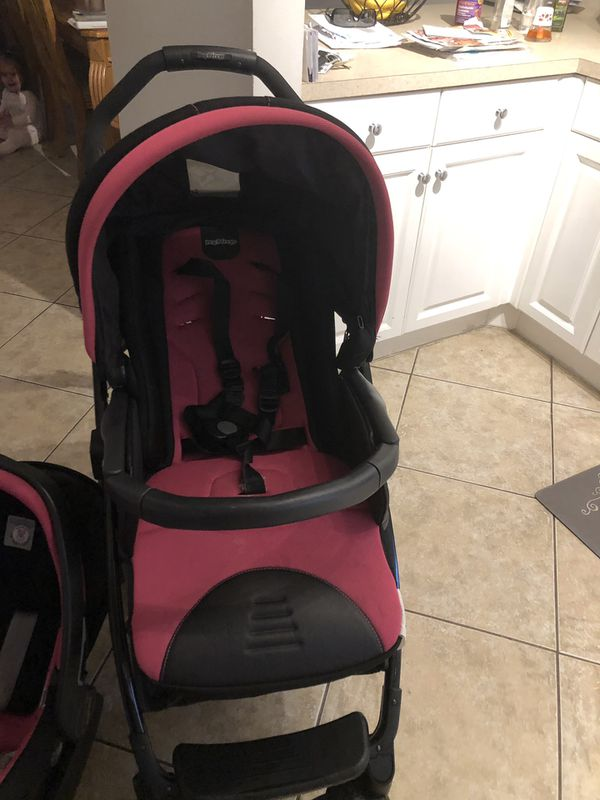 Peg pere go stroller with car seat