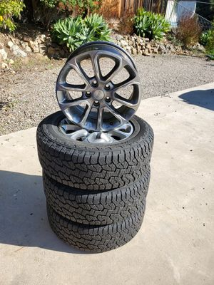 Wheels and Tires, Jeep Grand Cherokee Overland 2014 for Sale in La Mesa, CA
