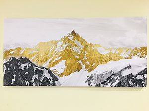 Golden Mountain Printed Canvas Ready to Hang Brand New for Sale in Kirkland, WA