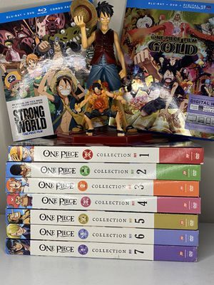 One Piece Anime Movies + Figures + DVD Set for Sale in Long Beach, CA