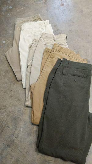 38x32 Men's pants. Eddie Bauer, Patagonia, Columbia. Gentle Worn for Sale in Georgetown, TX