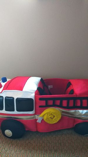 Like NEW Hanna Andersson Fire Truck Costume for Sale in Lynnwood, WA