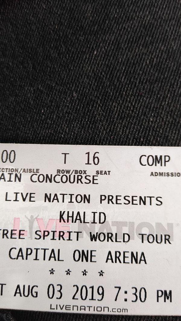 Khalid Tickets