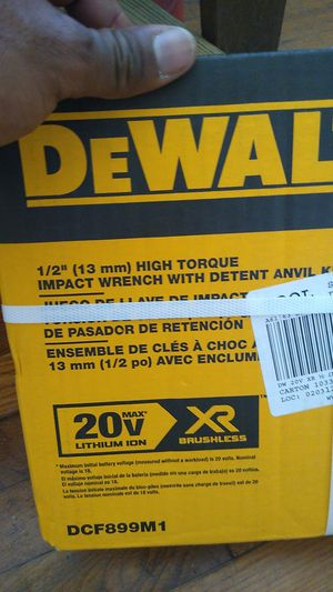 DeWalt impact wrench drill. for Sale in Portsmouth, VA
