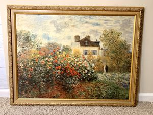 Monet Hand Enhanced Framed Print for Sale in Dacula, GA