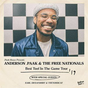 Reserved Anderson Paak Tickets Red Rocks 6/14 for Sale in Westminster, CO