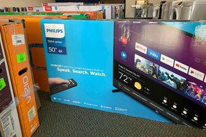 "NEW PHILIPS 5604 series 50"" 4K TV 3U for Sale in Georgetown, TX"
