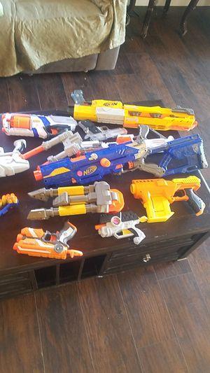 Nerf guns ! for Sale in Rosamond, CA