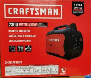 Craftsman generator inverter for Sale in Laurel, MD