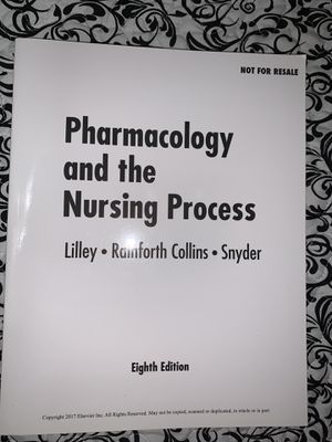 Pharmacology and the Nursing Process for Sale in Hialeah, FL