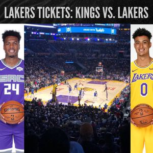 Lakers vs Sacramento Kings- Friday November 15th at 7:30 pm PST for Sale in Sierra Madre, CA