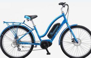 """New!! Bike, electric bike, 7 speeds 26"""" wheels unisex electric bike, female bike, male bike, bicycle , blue for Sale in Phoenix, AZ"""