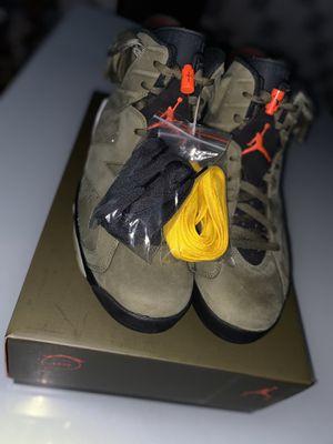 "Air Jordan 6 ""Olive Green"" Travis Scott Size 13 DS for Sale in Clearwater, FL"