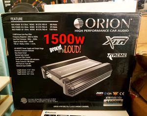 Orion xtr1500.1d brand new big power for those of u that know. for Sale in Ontario, CA