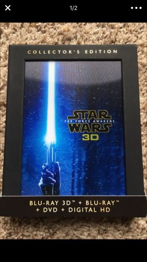 Star wars force awakens blu ray DVD for Sale in Denver, CO