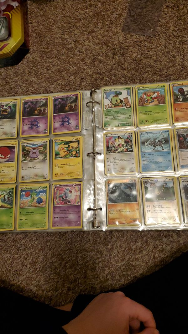 Pokemon card collection lot 6