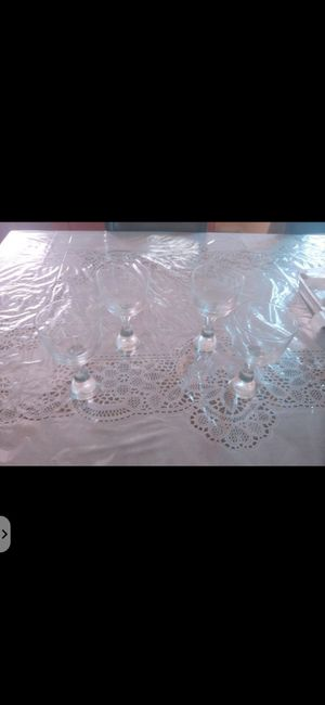 Princess House Glassware for Sale in Bakersfield, CA