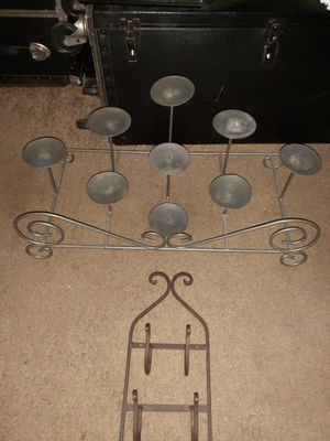 Metal Candle Opera and Kitchen Vegetable Wine Rack for Sale in Nashville, TN