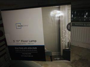 Floor lamp NIB $15 OBO for Sale in Austin, TX
