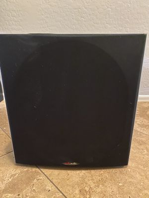 "Polk Audio 12"" Home Theater Subwoofer for Sale in Litchfield Park, AZ"