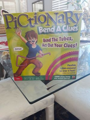 Pictionary - Bend A Clues - New for Sale in Upland, CA