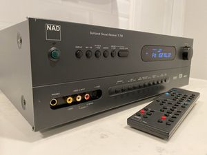 NAD Surround Sound Receiver T761 with Remote Control for Sale in West Covina, CA