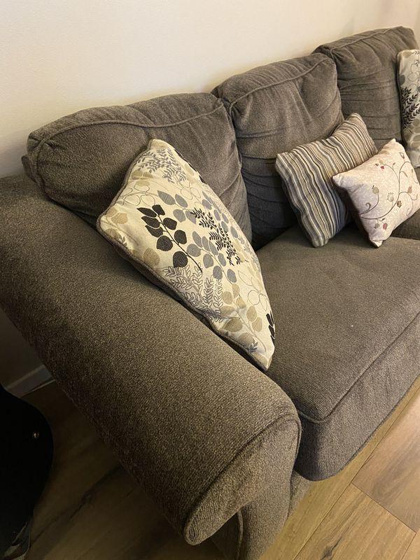 Sleeper Sofa - Pillows Included - $120 OBO