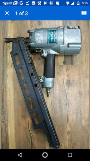 HITACHI NR83A2 Round-Head Strip Framing Nailer NR83A2 3-1/4-inch Nail Gun for Sale in Seattle, WA