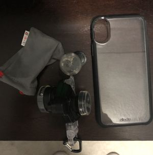 Olloclip IPhone X Case and Camera Lenses Bundle for Sale in Lakewood, WA
