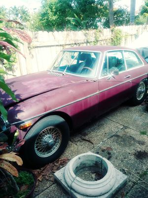 73 MGB GT parting out for parts for Sale in Hollywood, FL