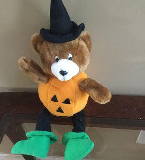 Halloween pumpkin bear for Sale in Pembroke Pines, FL