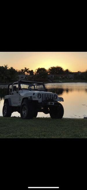 Jeep Wrangler 2001 Tj for Sale in Miami, FL