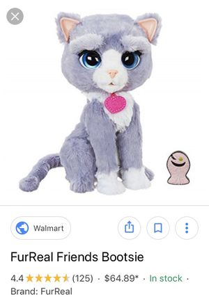 FurReal friends Bootsie the cat for Sale in Jupiter, FL