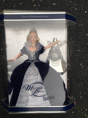 Millennium princess Barbie with millennium keepsake for Sale in Darien, IL