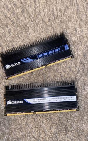 2 Corsair Dominator DDR3 2x2GB (4GB) RAM for Sale in Alexandria, VA
