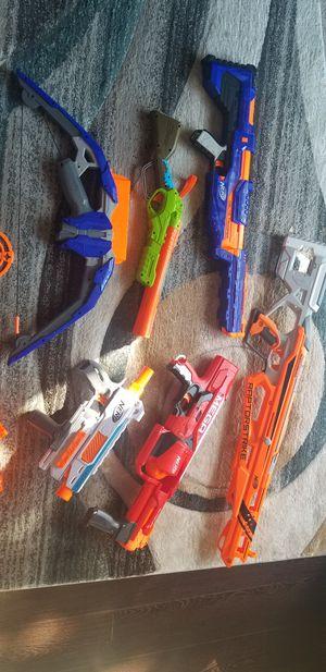 Nerf gun lot for Sale in Shakopee, MN