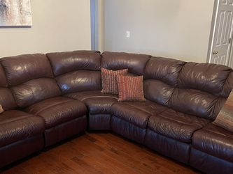 Leather Sofa Bed Sectional for Sale in Atlanta,  GA